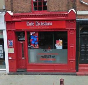 Cafe Rickshaw - Indian takeaway in Wolverhampton