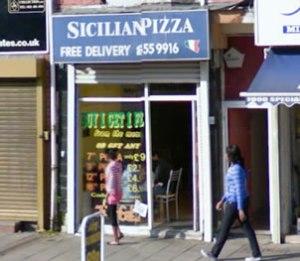 Sicilian Pizza Birmingham